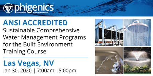 Phigenics Sustainable Comprehensive Water Management Program Training Course