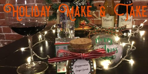 An Essential Oil Holiday Make & Take