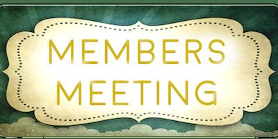 December Monthly Member Meeting