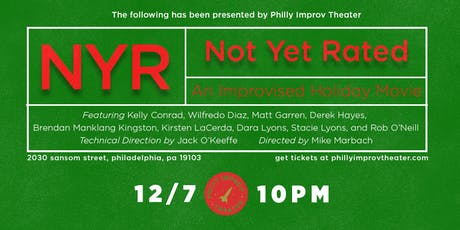 Not Yet Rated: An Improvised Holiday Movie tickets