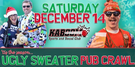 7th Annual Ugly Sweater Pub Crawl