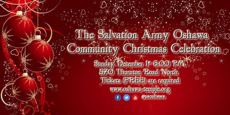 The Salvation Army Oshawa Community Christmas Celebration 2019 tickets