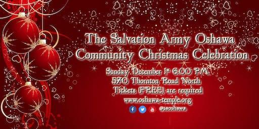 The Salvation Army Oshawa Community Christmas Celebration 2019