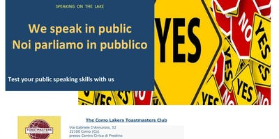 Paura di parlare in pubblico? Partecipa a Toastmasters