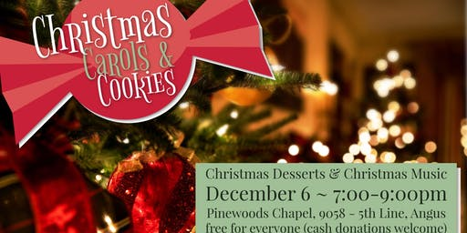 Christmas Carols & Cookies
