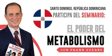 Boletos Seminario El Poder del Metabolismo VIP Experience *Santo Domingo, República Dominicana* - Hotel Catalonia Santo Domingo  boletos