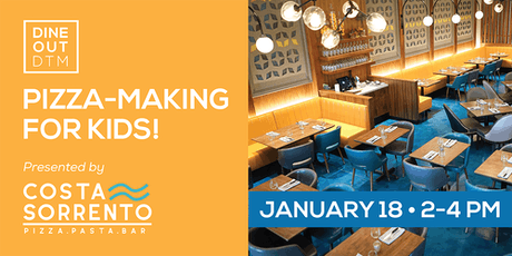 Pizza Making Amore: Parent & Child Jan.18 tickets
