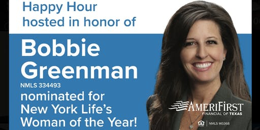 NYL Woman of the Year nominee - Bobbie Greenman