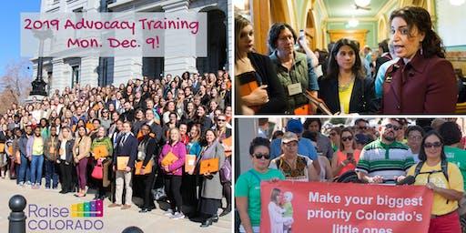 Raise Colorado Advocacy Training