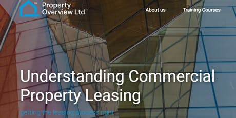 Understanding Commercial Property Leasing, London, 17 Jan 2020 tickets