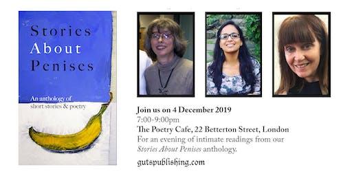 Stories About Penises 4 Dec Book Launch