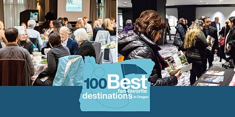 """2020 100 Best """"Fan-Favorite"""" Destinations in Oregon awards luncheon AND """"They said what?"""": Online-review reputation seminar tickets"""