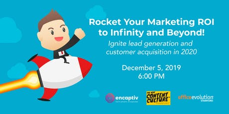 Rocket Your Marketing ROI - To Infinity and Beyond! tickets