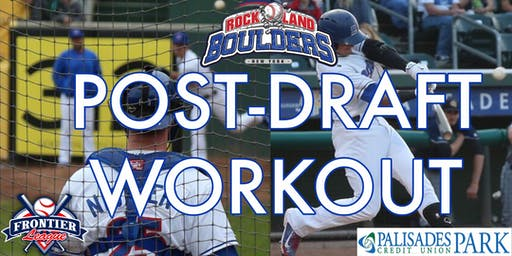 Rockland Boulders Post-Draft Workout