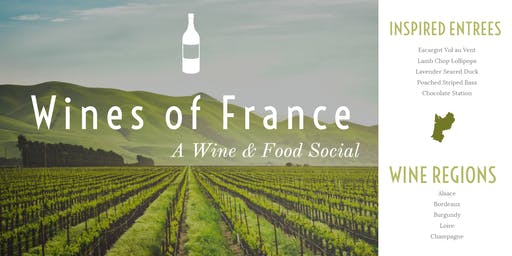Wines of France - A Wine & Food Social