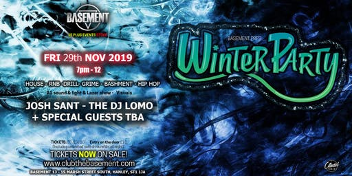 Basement Winter party  (15 plus)