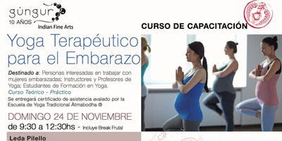Yoga Terapéutico para el Embarazo