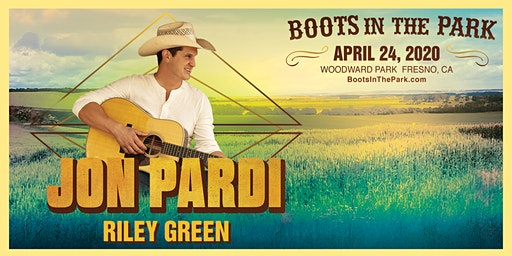 BOOTS IN THE PARK - Fresno with Jon Pardi