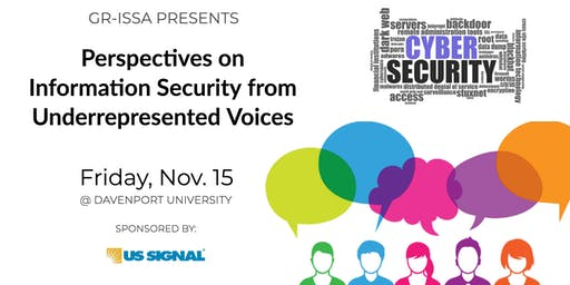 Perspectives on Information Security from Underrepresented Voices