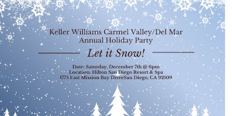 KW Annual Holiday Party: Let it Snow! tickets