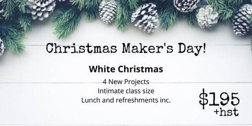 White Christmas - All Day Workshop