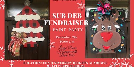 Sub Deb Fundraiser