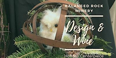 Design & Wine  Super Cute Holiday Centerpiece