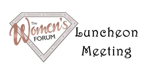 TWF - 11/21 Luncheon - Member's Choice - Networking