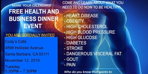 Health and  Wellness Dinner  Meeting