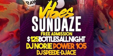 Vibes Sundaze tickets