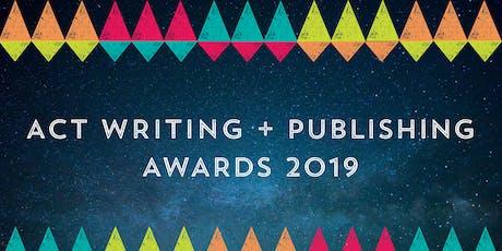 ACT Writing & Publishing Awards Night tickets