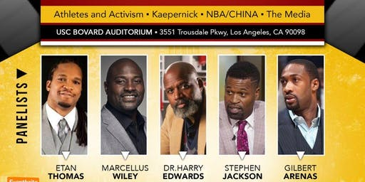USC Marshall School of Business, Office of Diversity, Equity, and Inclusion--Community Conversations: Athletes and Activism Debate