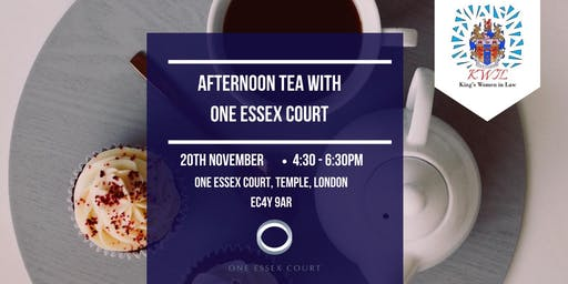 Afternoon Tea with One Essex Court