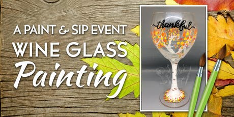 New Class! Join us for our Wine Glass Painting Party Workshop at The Runway Restaurant 11/22 at 6:30pm tickets
