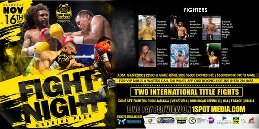 Fight Night @ Sabina Park