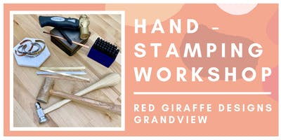 Hand-Stamping Workshop -  Create a Custom Jewelry Piece!