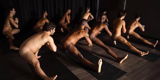 Naked Men's Yoga+Tantra NYC with Brandon Anthony