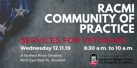 RACMI Community of Practice - Services for Veterans 12.11.19 tickets