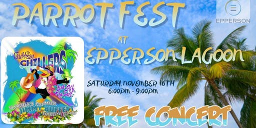 The Caribbean Chillers- Free Concert Nov. 16th