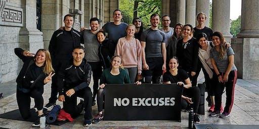 Sport gratuit à Bruxelles et rencontres : entrainement Freeletics du mardi