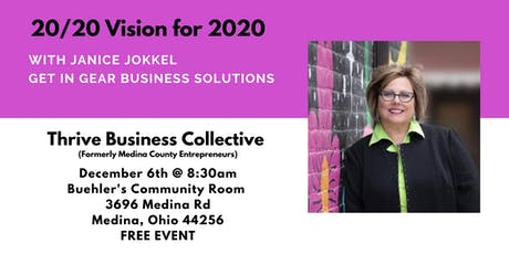 20/20 Vision for 2020 with Janice Jokkel tickets