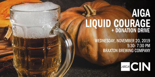 November Liquid Courage and Donation Drive