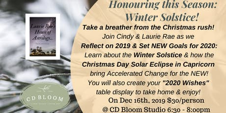 Honouring the Seasons: Winter Solstice! tickets