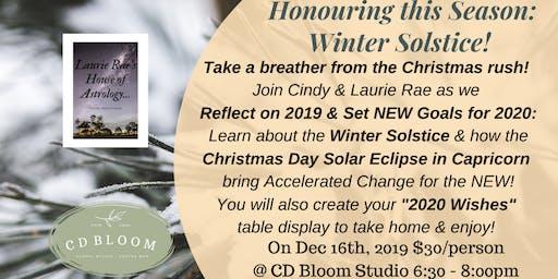 Honouring the Seasons: Winter Solstice!