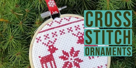Cross Stitch Ornaments tickets