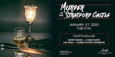 Murder Mystery Dinner – Murder at the Stratford Castle