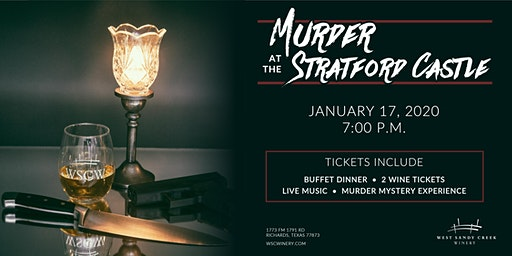 Murder Mystery Dinner - Murder at the Stratford Castle