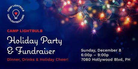 Camp Lightbulb Holiday Party and Fundraiser tickets