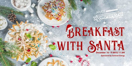BREAKFAST WITH SANTA- SESSION 1 tickets