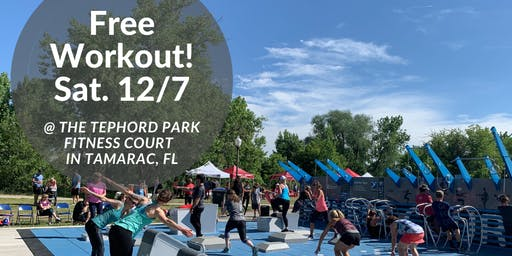 Free Workout Class on the Tamarac Fitness Court!